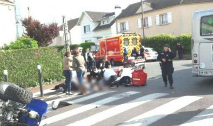 Décès d'un jeune de Massy. Il a percuté un bus en fuyant la police