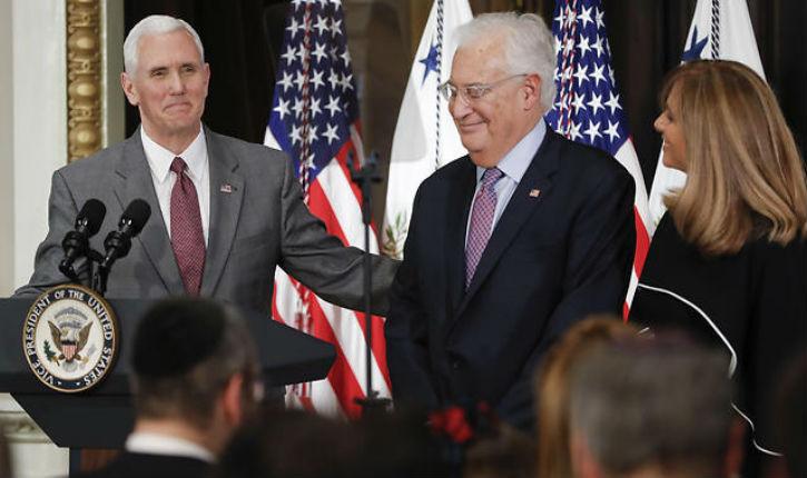 Déménagement de l'ambassade US à Jerusalem : selon Mike Pence, Trump examine le sujet de près.