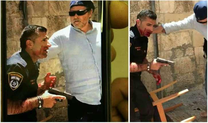 [Vidéo. Photos] Attaque au couteau à Jérusalem, un policier blessé, le terroriste musulman a succombé à ses blessures