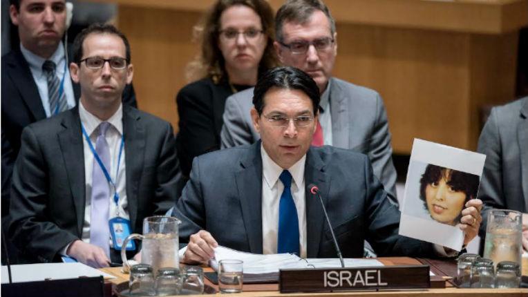 Danny Danon à l'ONU «La seule protection dont les Palestiniens ont besoin est celle de leurs leaders»