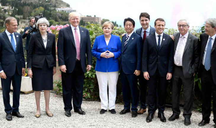 G7 : comment Trump a sabordé le texte pro-migrants préparé par le gouvernement italien (Vidéos)