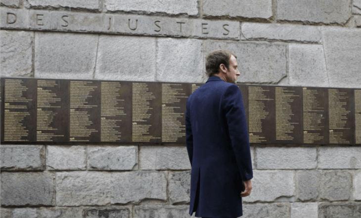 Macron mémorial Shoah