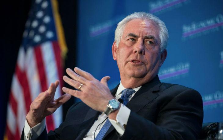 Rex Tillerson, secrétaire d'Etat américain dénonce fermement l'emprise totale de l'Iran sur l'Irak