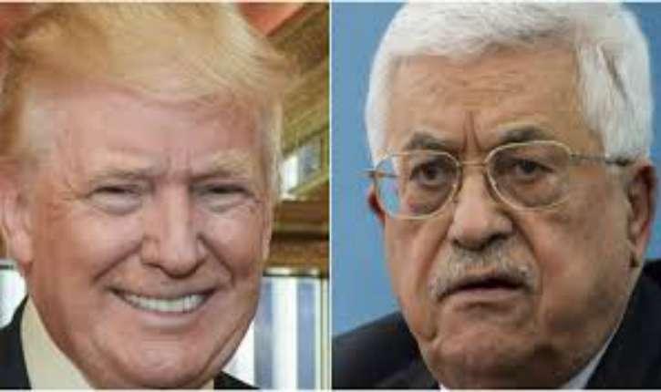 Trump à Abbas : « On ne peut pas avancer vers la paix et parallèlement financer le terroisme. La paix ne viendra pas dans une sphère où la violence est financée et récompensée »