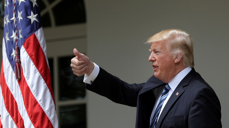 Trump en israel