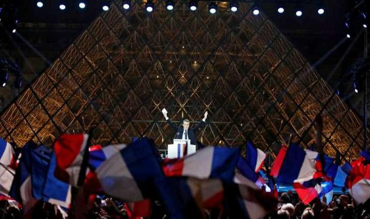 Pour Gilles-William Goldnadel, la victoire d'Emmanuel Macron est une victoire artistique, médiatique et esthétique «bravo l'artiste!»