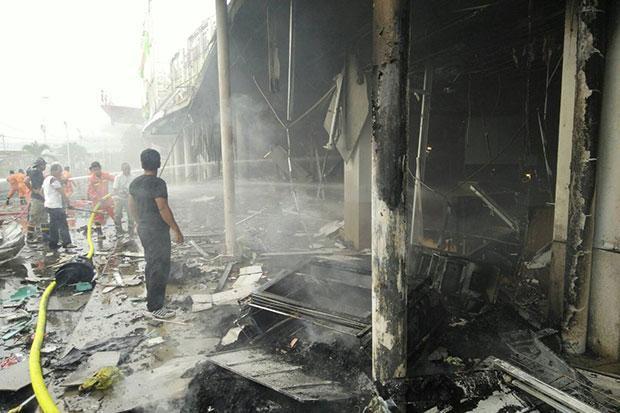 [Flash-info] Thailande: deux bombes explosent dans le centre commercial Big C à Pattani