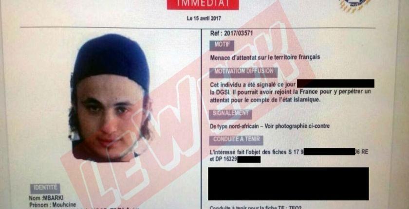 Mouhcine Mbarki, le djihadiste le plus recherché qui veutattaquer la France pendant les présidentielles