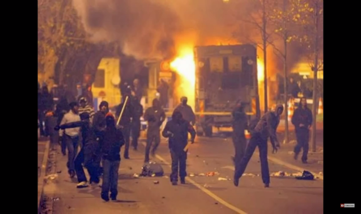 Vidéos : Les médias taisent les émeutes du week end à Evry