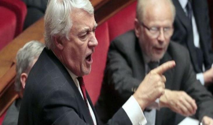 Claude Goasguen donne de la voix après l'abstention de la France à l'Unesco.