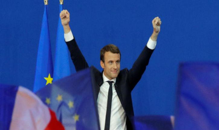 Emmanuel MACRON élu Président de la République par 65.9 %* contre  34.1 %* pour Marine Le Pen