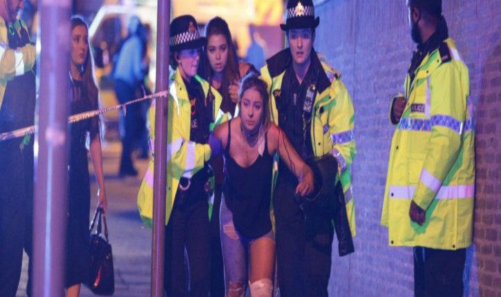(Vidéo) Attentat terroriste à Manchester : 22 morts et 60 blessés provisoires