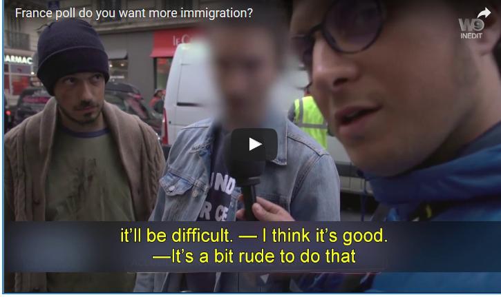 Video : regardez la réaction de ces français pro-immigration quand on leur propose d'accueillir des migrants chez eux