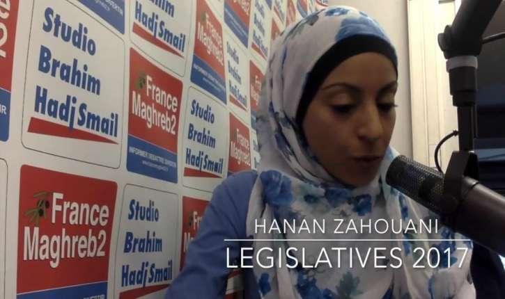 [Vidéo] Hanan Zahouani souhaite être élue député en Juin pour faire entrer le voile à l'Assemblée, créer une Ambassade palestinienne, et plus…