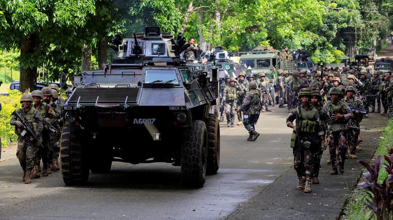 Philippines : L'armée libère 78 otages et tue 13 terroristes liés à l'Etat islamique