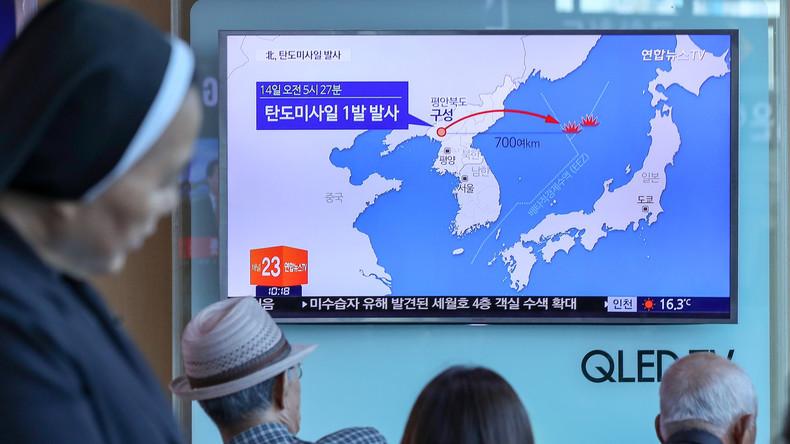 Le tir du nouveau missile nord-coréen est «d'une portée sans précédent»