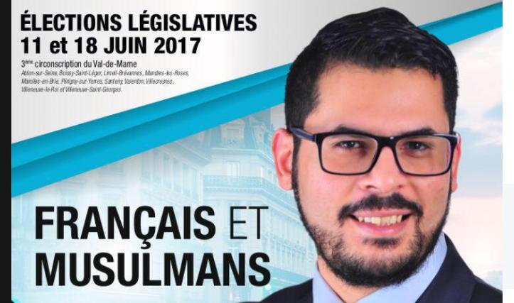 Le Parti islamiste Français & Musulmans s'invite aux législatives. Au programme : boycott d'Israël, voile à l'école, vote des étrangers…