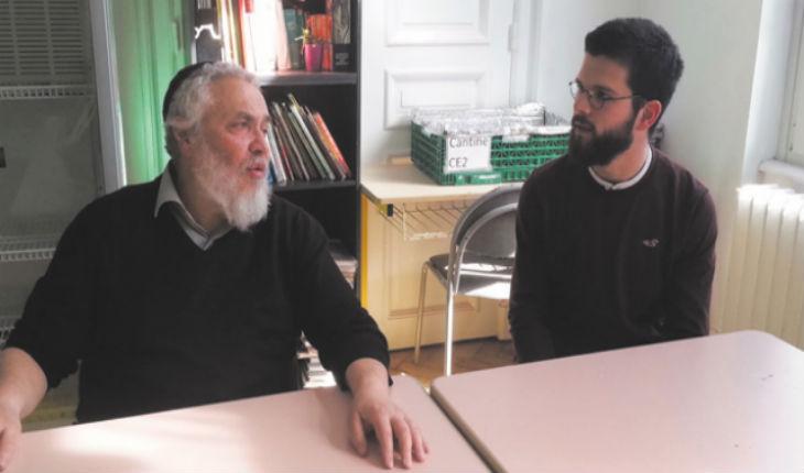 Strasbourg : Un futur prêtre se forme dans une école juive