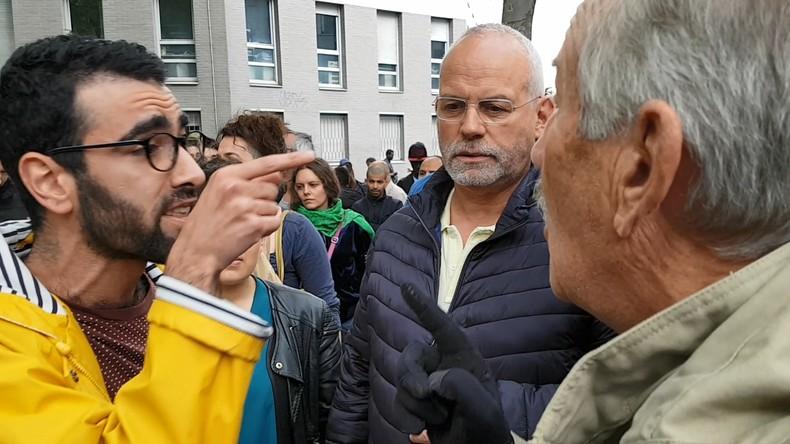 Des gauchistes pro-migrants, qui n'habitent pas le quartier, qualifient de «racistes» les riverains venus dénoncer l'insécurité  à La Chapelle-Pajol (Vidéos)