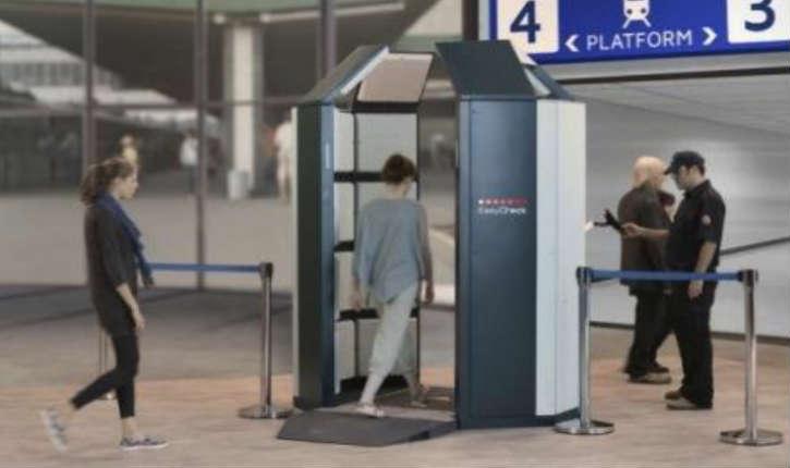 Israël : «EasyCheck» le scanner corporel à 360° qui détecte en temps réel tout objet ou matière explosive suspects sous les vêtements