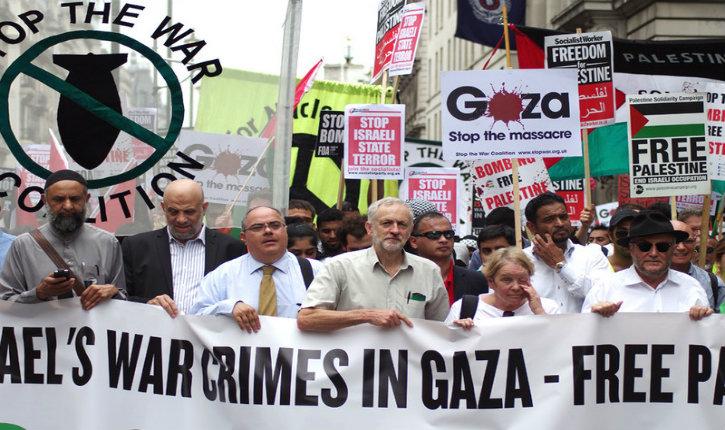 Le chef du parti travailliste britannique Jeremy Corbyn considère que le Hamas et le Hezbollah sont «ses amis»