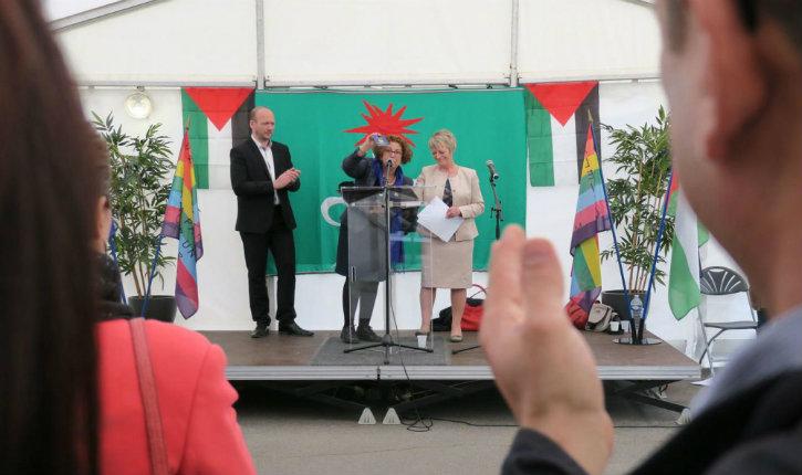 Val-de-Marne : la maire de Valenton est officiellement palestinienne