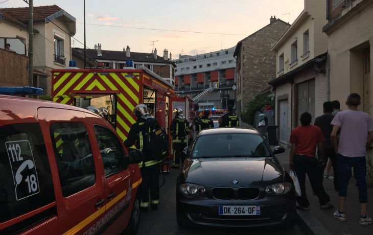 Aubervilliers : Un jet de cocktail molotov dans un restaurant fait 12 blessés
