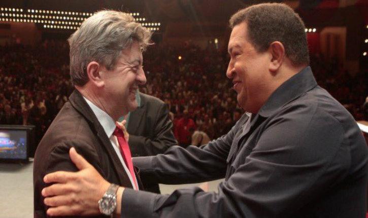 Quand Mélenchon l'insoumis portait la cravate face aux dictateurs