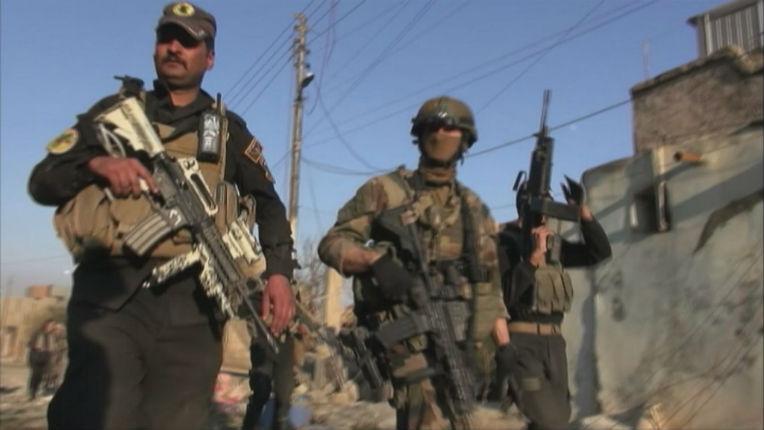 Les forces spéciales françaises traquent les djihadistes belges et français à Mossoul pour les éliminer