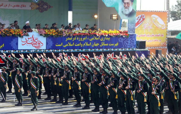 Trump a confirmé que les États-Unis avaient désigné le Garde révolutionnaire iranien «organisation terroriste étrangère»