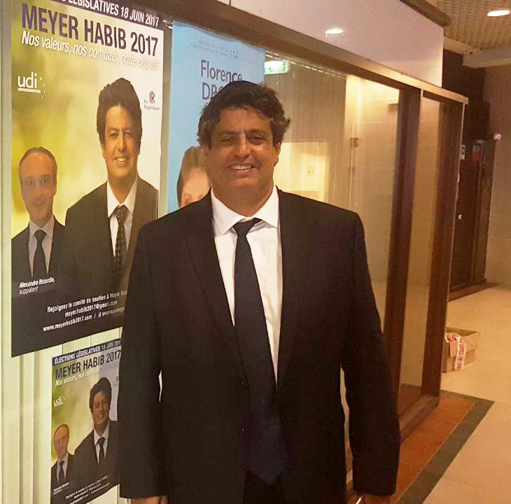 Meyer habib réélu en tant que député des français de l'étranger