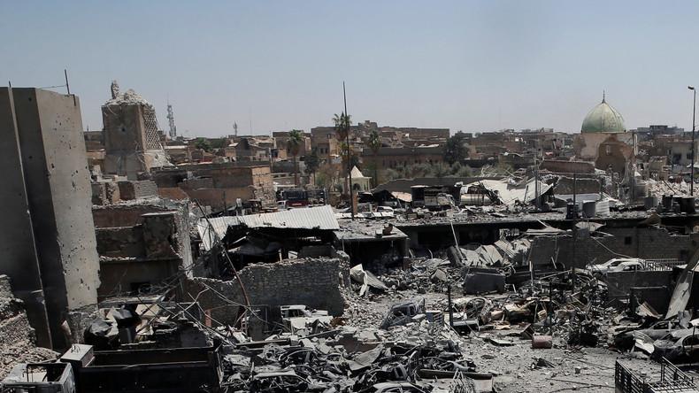L'Irak annonce la fin de «l'Etat illusoire» de Daesh après la prise de la mosquée Al-Nouri à Mossoul
