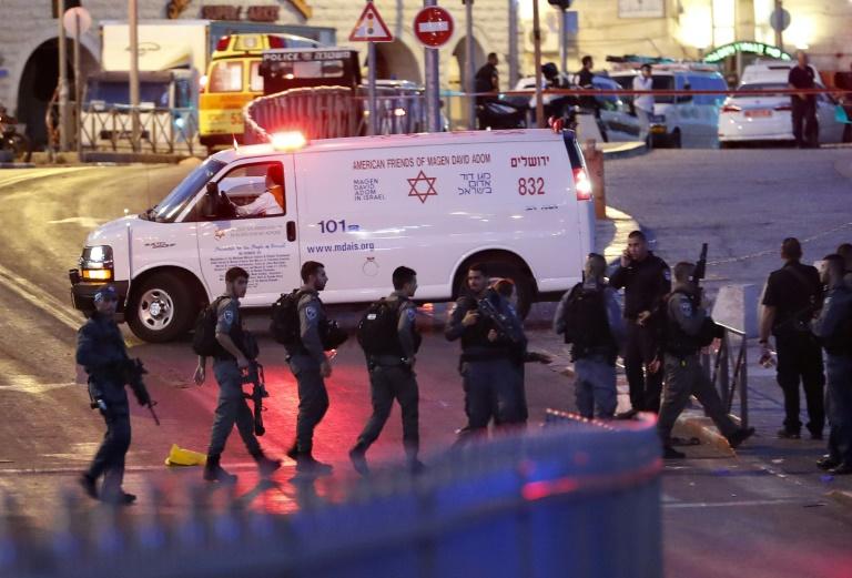 La France condamne «l'attentat odieux» de Jérusalem