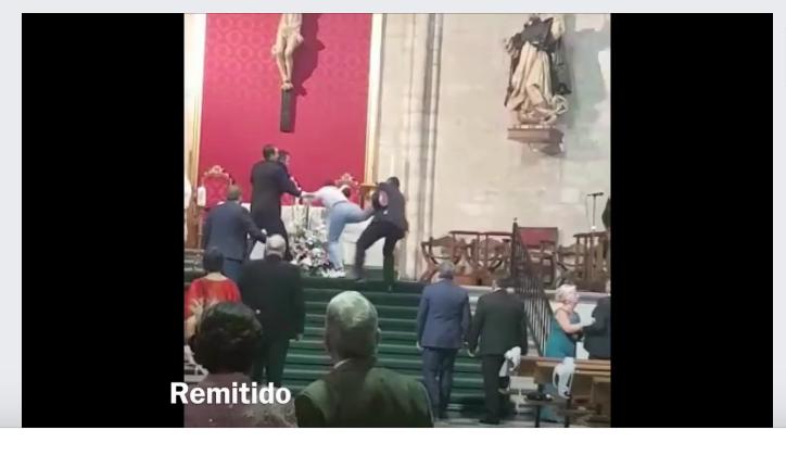 (Vidéo) Espagne: Un Marocain interrompt un mariage dans une église aux cris d' « Allah akhbar »