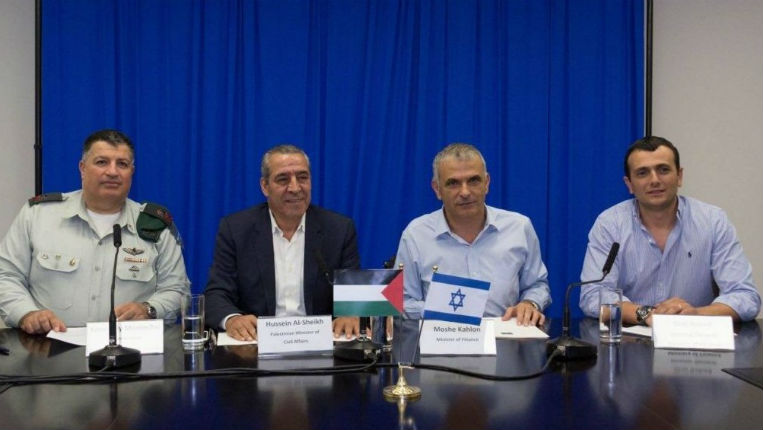 Le gouvernement israélien et l'Autorité palestinienne acceptent de renforcer leurs liens économiques
