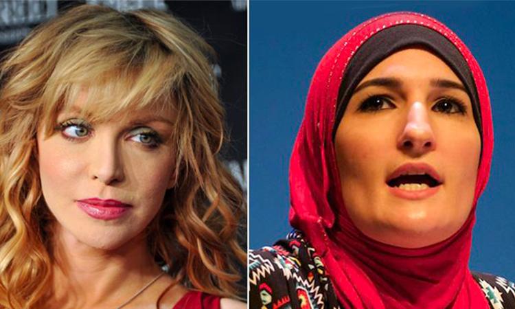 Courtney Love comme de plus en plus de célébrités américaines deviennent anti-Charia
