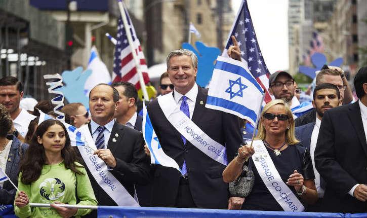 New York : 53e parade de solidarité avec Israël placée sous le signe de la reconnaissance de la réunification de Jérusalem