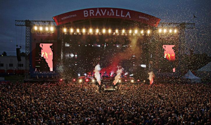 Le Festival de musique suédois annulé après une série de cas de viol