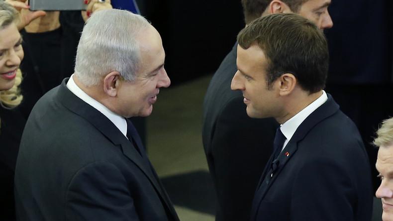 Emmanuel Macron : « Nous ne céderons rien à l'antisionisme, forme réinventée de l'antisémitisme »