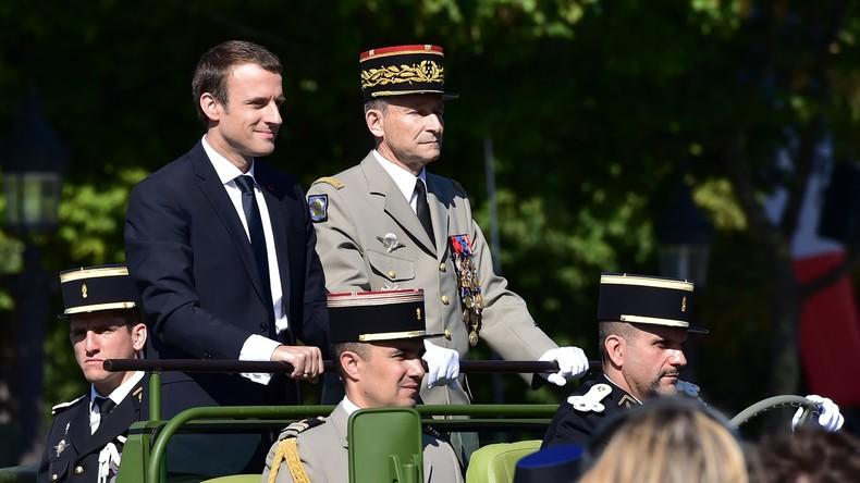 Pétition : Emmanuel Macron prié de s'excuser auprès du général de Villiers par 18 000 personnes