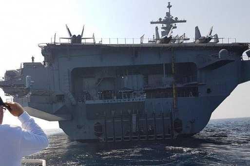 Qui le porte-avions Bush devrait dissuader, sinon l'Iran?