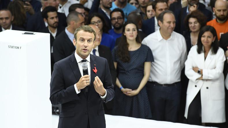 Macron suscite l'indignation avec cette phrase «Les gens qui réussissent et ceux qui ne sont rien»