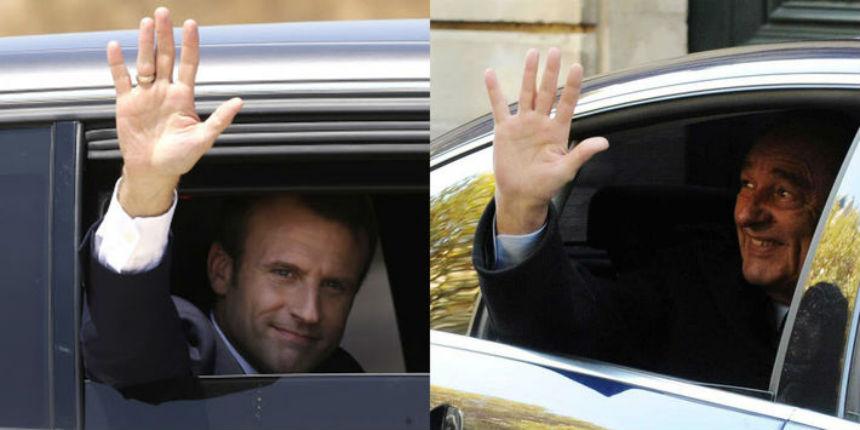Forte chute de popularité de Macron en trois mois. Seul Chirac avait fait pire