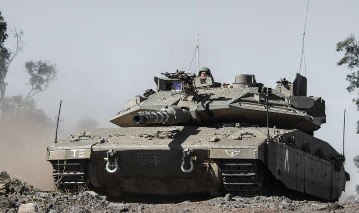 Les conducteurs de chars israéliens Merkava IVprochainement équipés d'un système de casque proche decelui des pilotes desF-35
