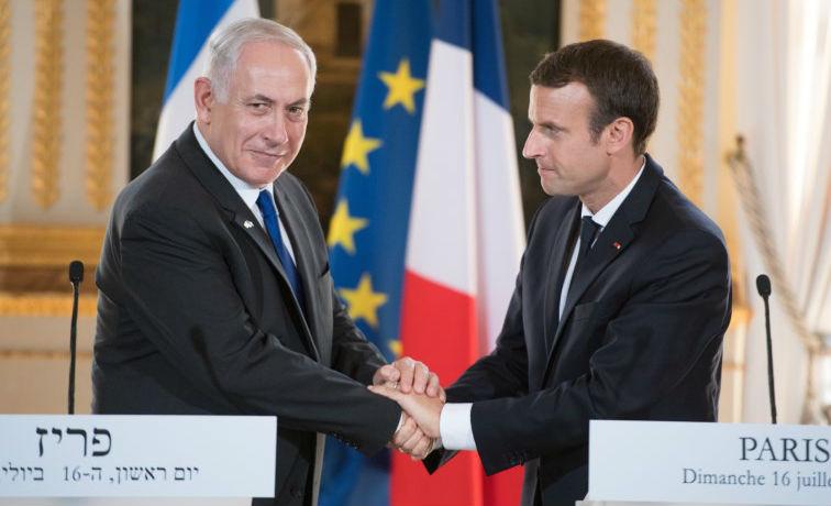 La France, 1er pays Européen totalement aligné sur les pays islamistes, plante un nouveau couteau dans le dos d'Israël