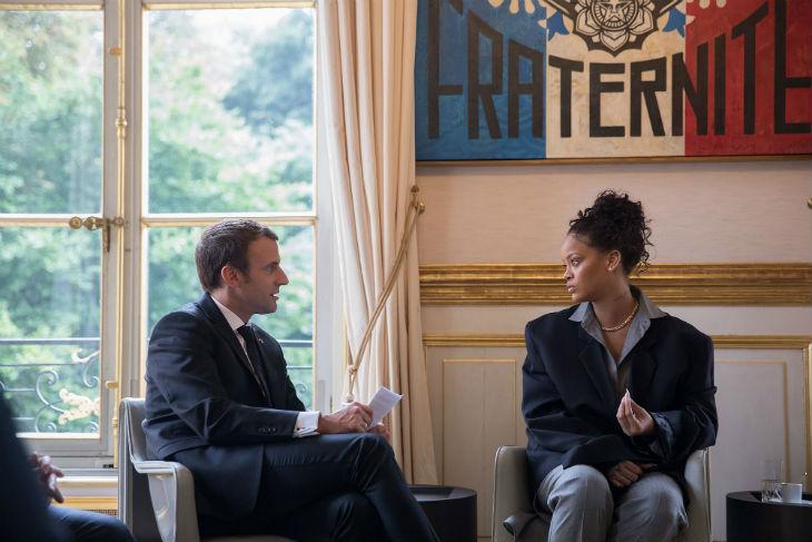 Tandis que Macron demande des économies aux Français, sa priorité est de recevoir des stars comme Rihanna à l'Elysée…