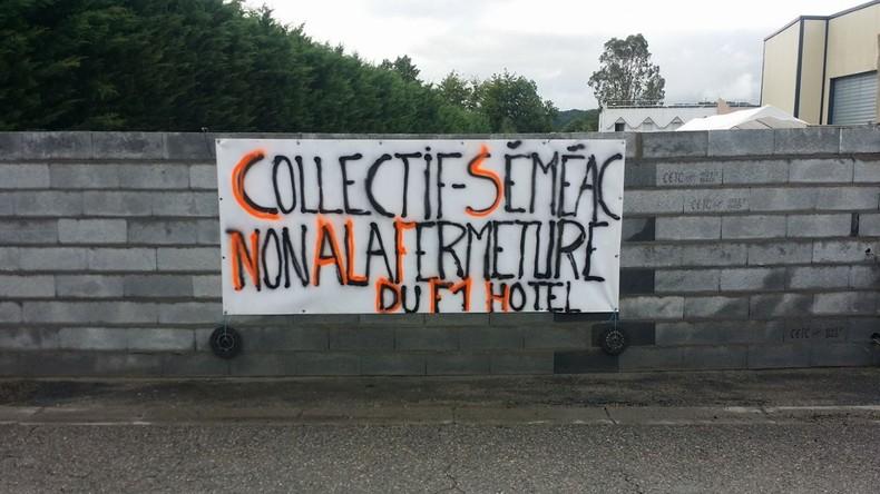 Ils ne veulent pas de migrants : Des riverains murent un hôtel destiné à accueillir des migrants dans les Hautes-Pyrénées
