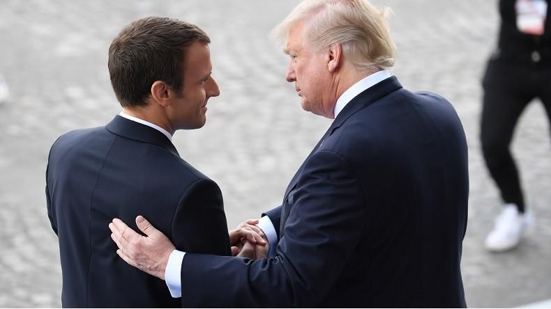 «Il adore me tenir la main !» : ce que Donald Trump a retenu de sa rencontre avec Macron