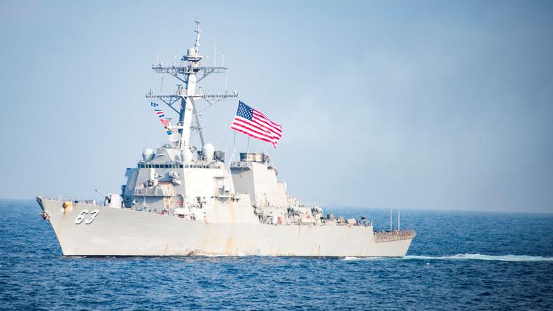 Pékin déploie des navires de guerre en mer de Chine après la «provocation» de Washington
