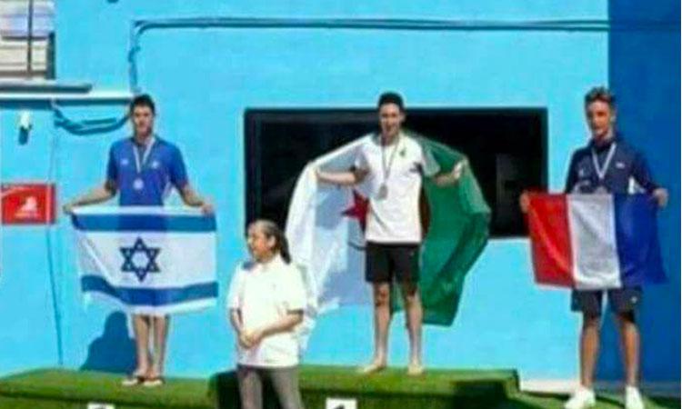 Algérie: Il pose avec un israélien sur le podium il est accusé de « trahison »